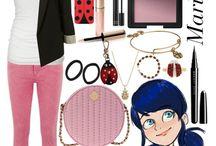 lady bug e chat noir outfit
