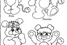 Crafty (80's Popples) Coloring