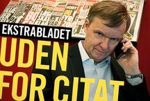 Ekstra Bladet Uden For Citat / Artikler med relevans for dokumentarfilmen Ekstra Bladet Uden For Citat