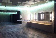 อิฐเทียม CB-093 พร้อมติดตั้ง ชั้น 10 ทั้งชั้น อาคารมาลีนนท์ ช่อง3 / อิฐเทียม CB-093 สีขาว ตกแต่งผนัง ชั้น 10 อาคารมาลีนนท์ www.thaistoneshop.com