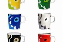 Cups and dishes, Marimekko, arabia and other