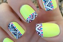 Ongles fluo