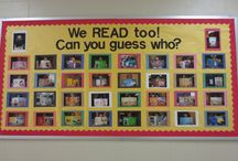 Library Bulletin Boards / by Kathleen Authenreith