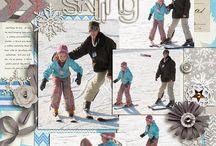 Scrapbook layouts / by Crystal Barnes-Brum