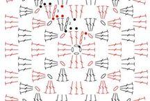 Granny square patterns / Granny diagrams