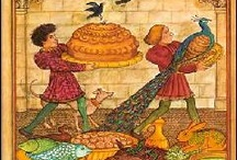 Medieval Food & Feasting / Medieval (more or less...) feasts, cooking, food