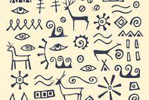 Узоры, символы