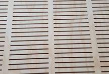 Dřevo perforated