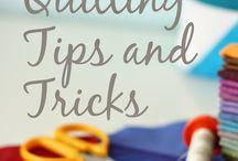 quick quilting hints & tips