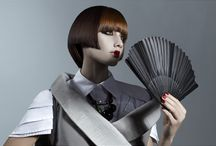 SAMURAI GIRL SS 2014- LOFT PARRUCCHIERI / Una nuova concezione dell'estetica arriva dal Giappone e contamina design, beauty e fashion-A new esthetic ideal comes from Japan, contaminating design, beauty and fashion.