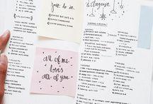 Journaling / bullet journal