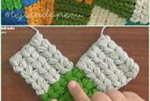 Crochet and knitting stuff