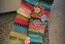calcetines tejidos