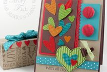1p-CardDesigns with Hearts / by Cindy Keller