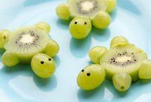 Decorare con la frutta