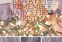 Babies' first Christmas