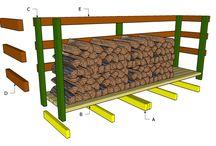 drewno, składowanie