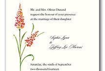 Wedding Program Art