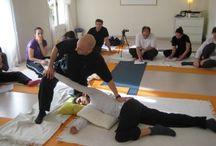 Masaje Tailandés - Thai Massage / Instantáneas de nuestros cursos de masaje thai.