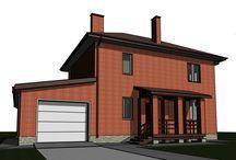 Проект дома / Проекты и проектирование домов. http://stroitel59.ru?utm_source=pinterest&utm_medium=smm&utm_campaign=pinterest