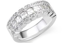 Anniversary Rings / Diamond and gem stone anniversary rings and settings | Andrews Jewelers, Buffalo NY