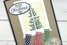 Christmas Cards & Gifts / Stampin' Up! Christmas Cards made by Lisa Ann Bernard of Queen B Creations, Independent Stampin' Up! demonstrator