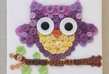 Owl art ideas