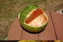 Meloun a ovoce