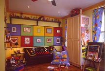 Playroom ideas / by Claude Campeau