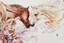 Malowane konie