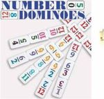 Numbered Domino Sets / http://www.mexicantrainfun.com/dominos-with-numbers.html
