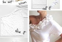 Cut Up Tshirts & ReCycled Clothes/items / Reuse and recycle / by Mari Harris