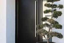 Portes d'entrée design