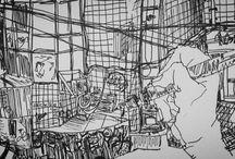 스케치배경