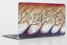 arty laptops / my art as laptop covers, for sale
