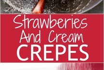 Dinner - crepes - not tried