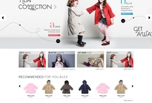 AlexandAlexa / Described as 'the 'NET-A-PORTER for under 14 year olds, AlexandAlexa, asked Pod1 to revamp their ecommerce site.  Our visually rich look and interactive approach, gave the brand an upmarket feel to better reflect their offering of the best in international children's fashion.