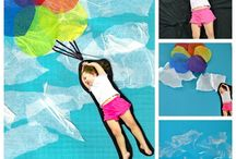 Kids crafts  high in the sky theme
