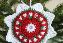Crochet ~ Garland, Ornaments & Stockings / by Eve Slacum-Myers