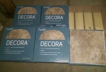 Peel and Stick Tile / HOOD'S in West Alton, Missouri has received a shipment of Peel and Stick Tile.  Check out the pictures for color and variety.  We have Cryntel Decora, Cryntel Stylesque, Ultra Shine, and Ever Shine Peel and stick tile.