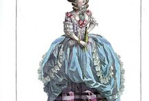 1700's to Empire / Fashion from the 1700's to the Empire
