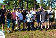 Participantes / Grupos de diferentes participantes del programa semanal del CAVS de Misiones.