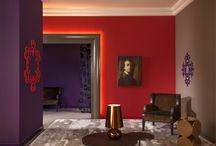 Hoteles / Decoración de hoteles con molduras, cornisas y zócalos de la marca Orac Decor.