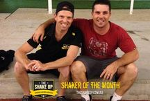Shakers of the Month / Every month one of our members at each location wins Shaker of the Month for their outstanding efforts.  They win awesome prizes from our sponsors and we post an interview with the Champions!