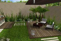 Decoraciones de jardín