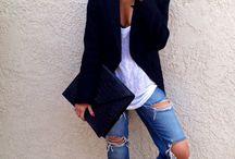 tenue à la mode femme