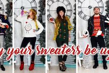 May your Sweaters be Ugly and your Christmas Beautiful /// Ugly Christmas Sweater Guide 2017