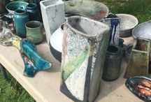 Raku Pottery  I have made / Raku pottery. For sale next weekend in East Dean, Sussex.