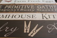 Signs / by The Rustic Sign