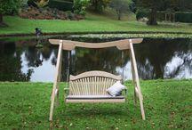 Kyokusen / Our Kyokusen Curved Oak Swing Seat